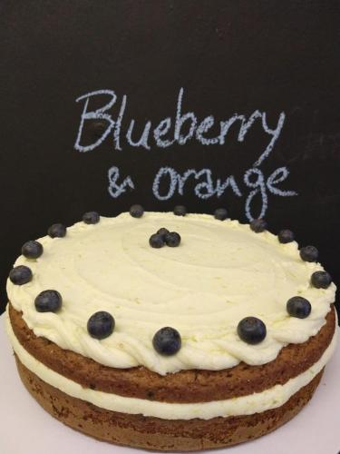 Blueberry Orange cake