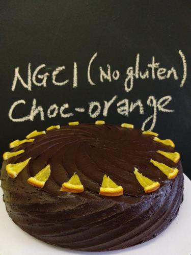 NGCI chocolate orange cake